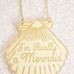 Im really a Mermaid Necklace