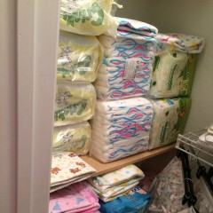 just arrived 220 big baby diapers