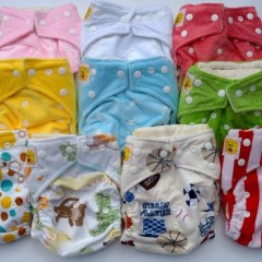 aren't these cloth diapers the cutest?